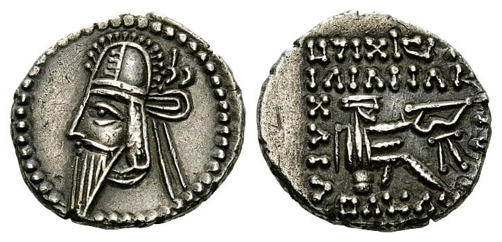 dracma Vologases VI