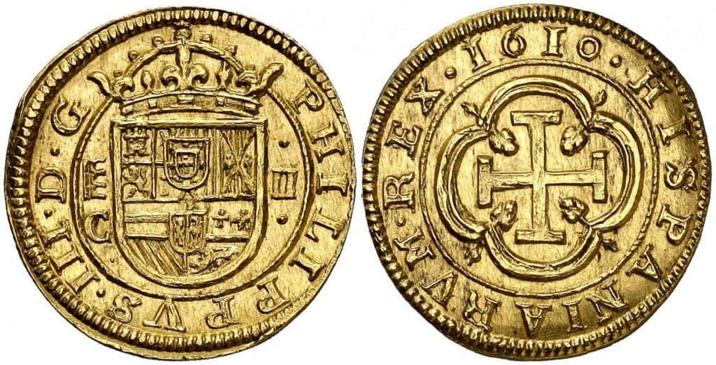2 escudos de 1610