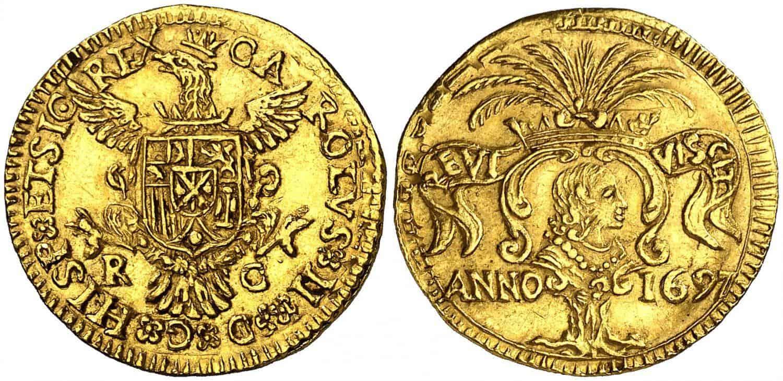 Carlos II, Palermo. 1697.
