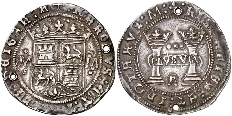 3 reales. Juana y Carlos. México. s/d.