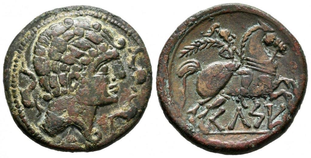 Celse. As. 120-50 a.C. Velilla del Ebro (Zaragoza).