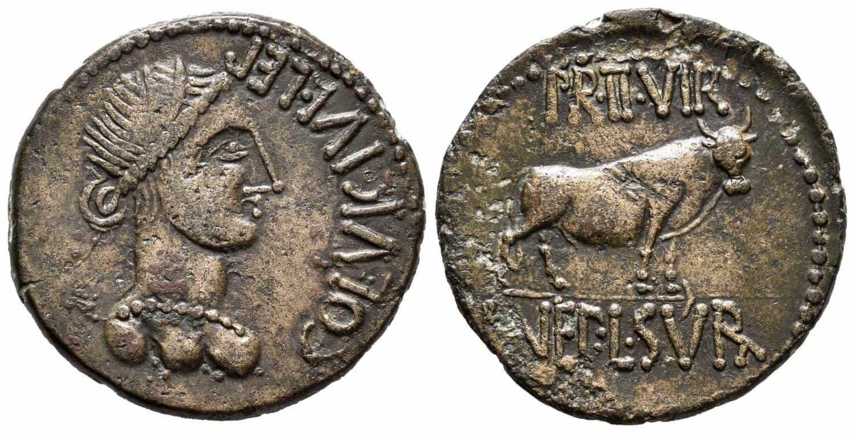 Celsa. As. 50-30 a.C. Velilla del Ebro (Zaragoza).