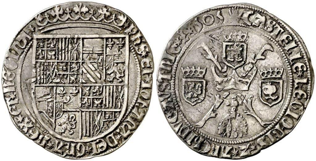 Imagen 8. Real de 1505 de Amberes