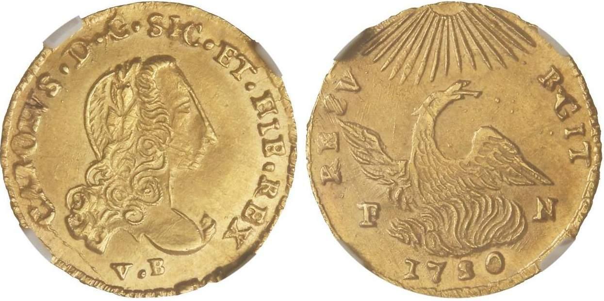 oncia 1750 Palermo