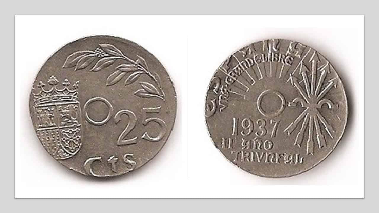 Fig. 4. Variante Cospel distinto. Moneda de 1 Reichsmark