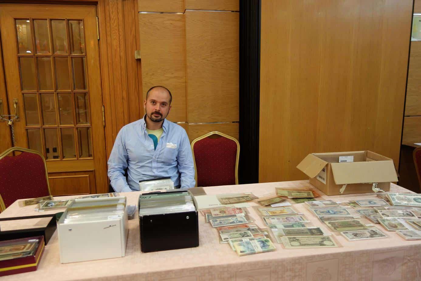 convención de billetes