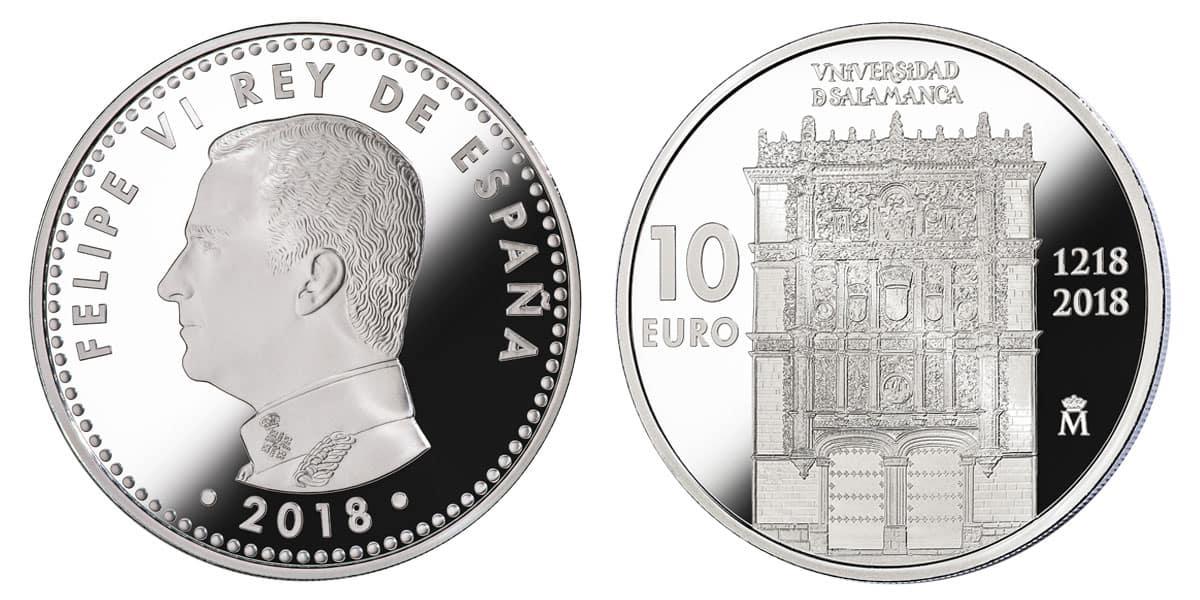 10 euros Universidad de Salamanca