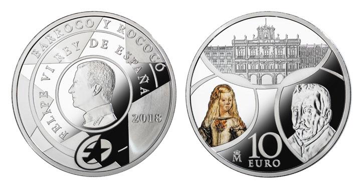 10 euros serie Europa Barroco