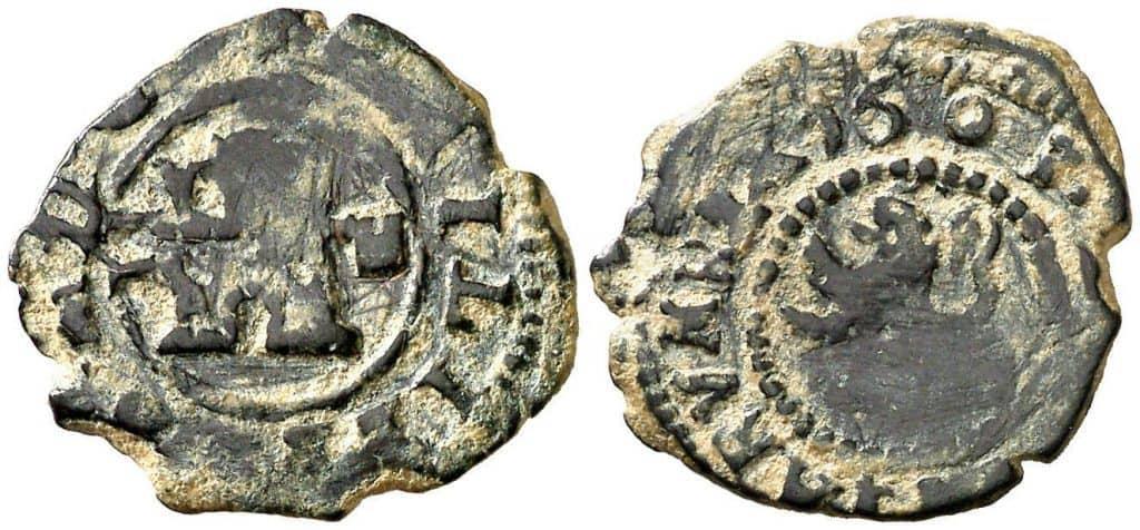 2 maravedíes segoviano de 1663
