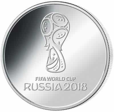 25 rublos Copa Del Mundo 2018