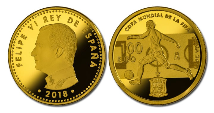 100 euros Mundial Futbol