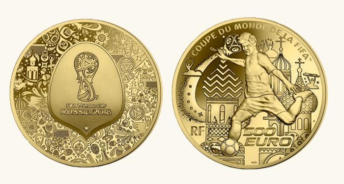 500 euros Copa Del Mundo Francia