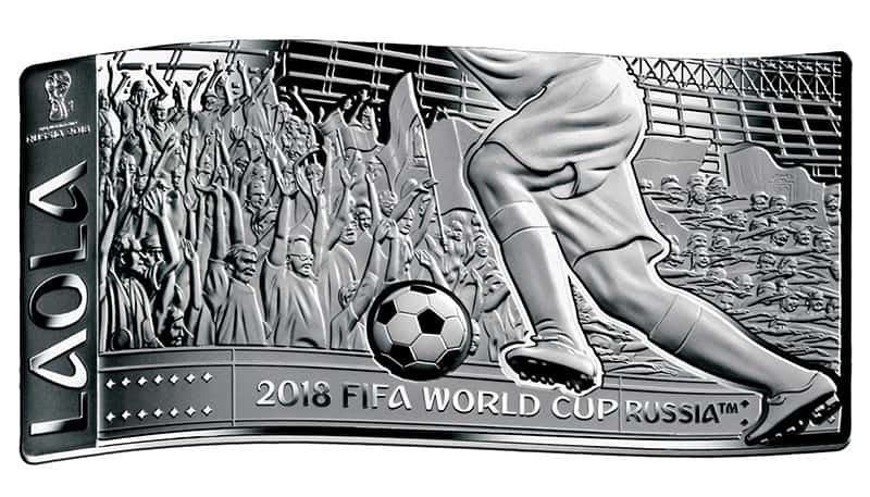 Islas Salomon 10 dolares Mundial Futbol