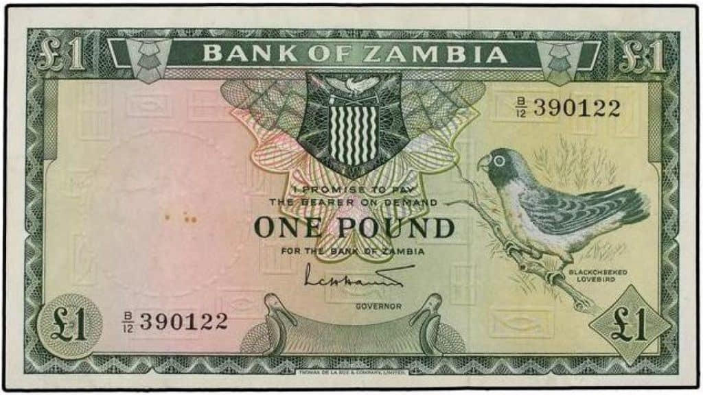 1 libra Zambia