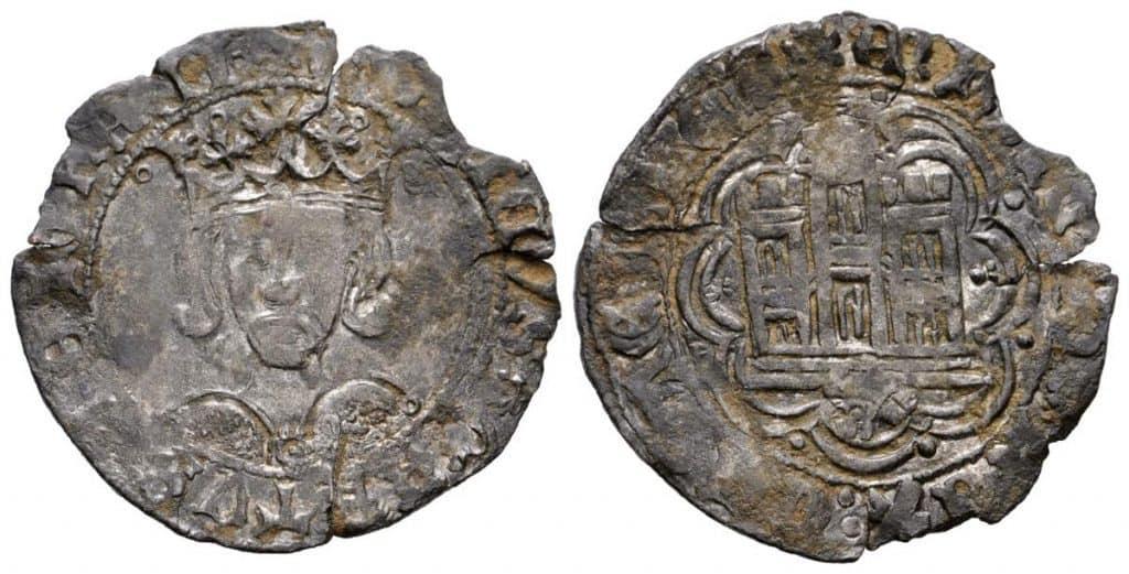 Cuartillo, Enrique IV. Ceca desconocida
