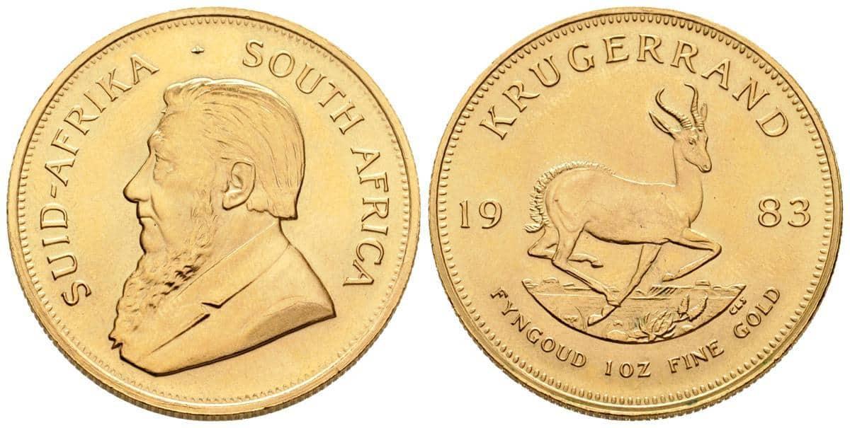 Krugerrand de Sudafrica