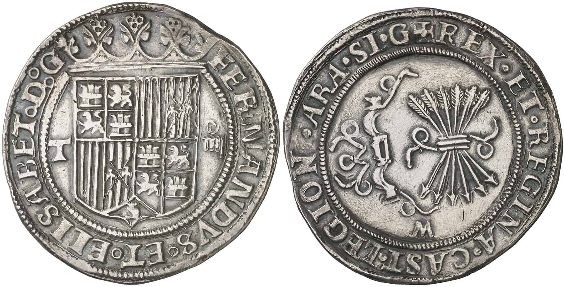 4 reales Toledo Reyes Católicos