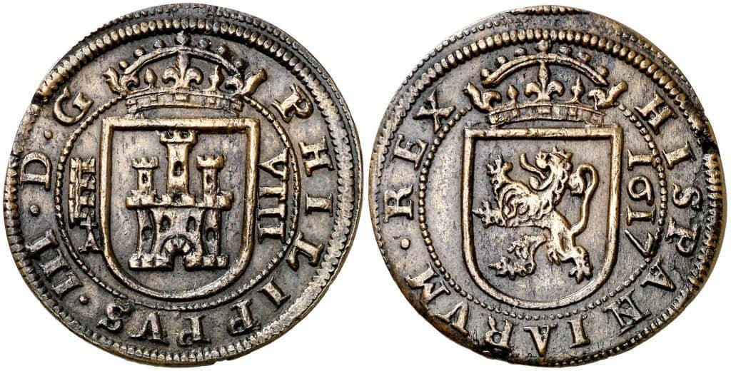 8 reales 1617 Segovia