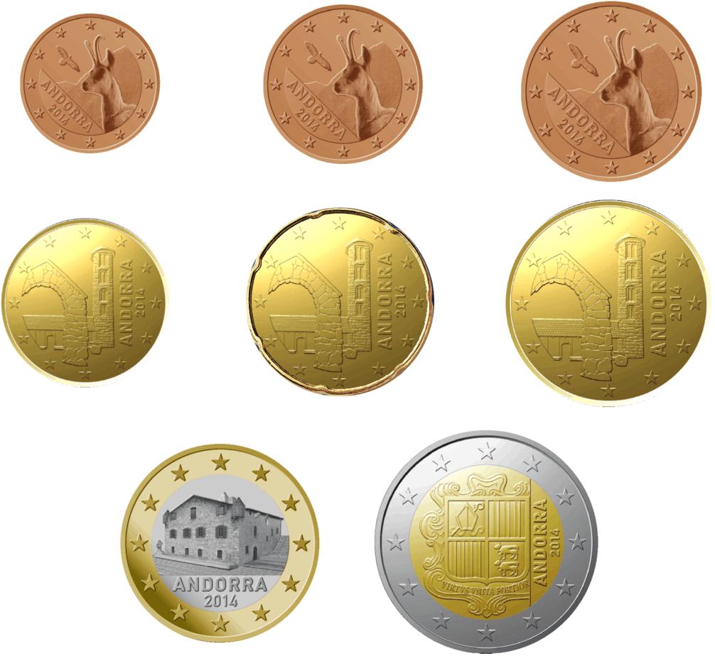 serie euros Andorra