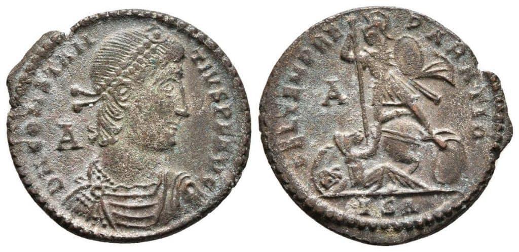 maiorina Constancio II