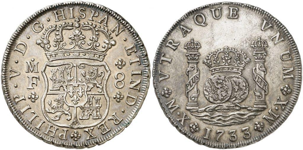 columnario México 1733
