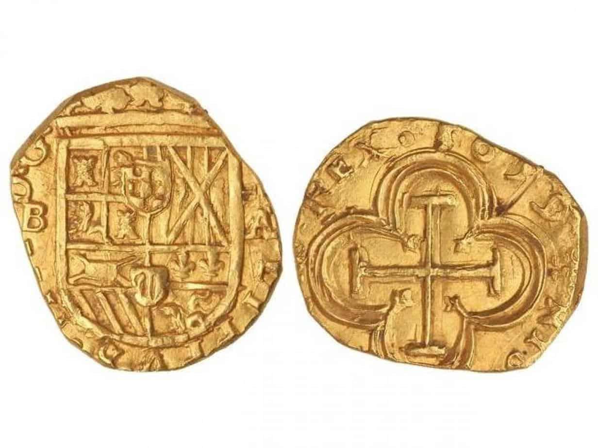 2 escudos 1659 de Barcelona