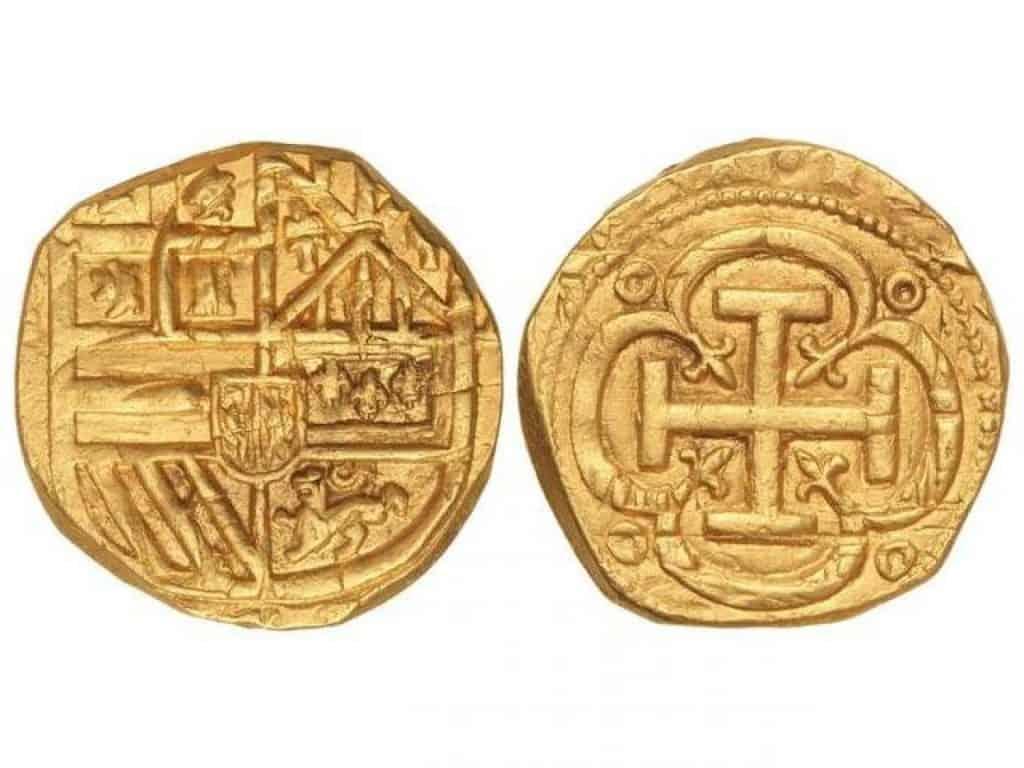4 escudos de 1697 de Barcelona