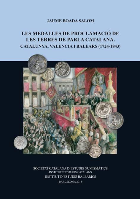 Portada Les medalles de Proclamació de les terres de parla catalana
