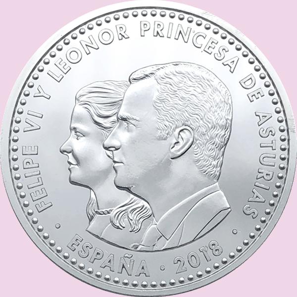 Hoy se emite la primera moneda con la imagen de la Princesa Leonor