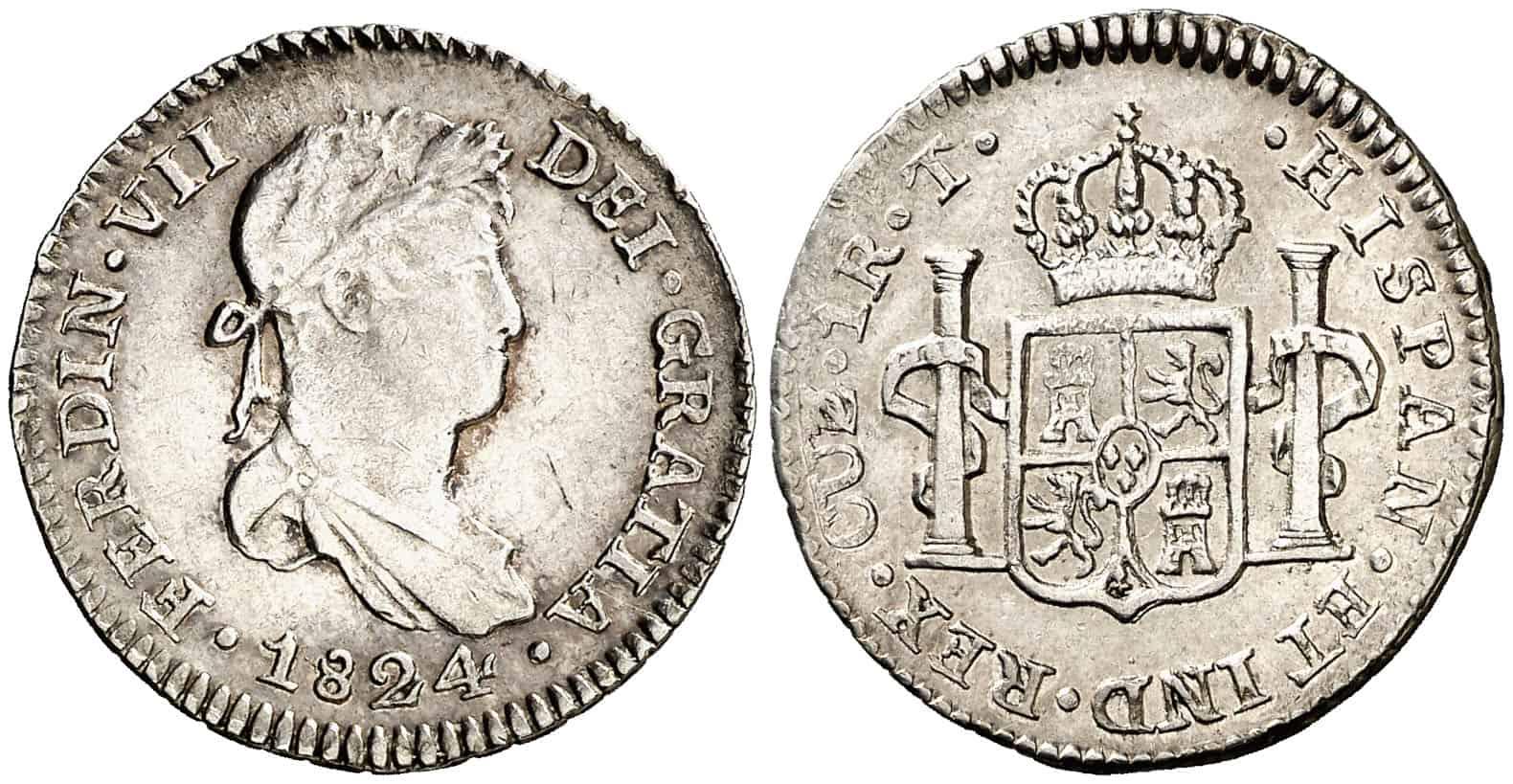 1 real Cuzco 1824