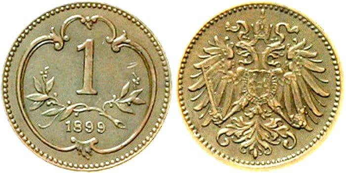 Heller alemán 1899