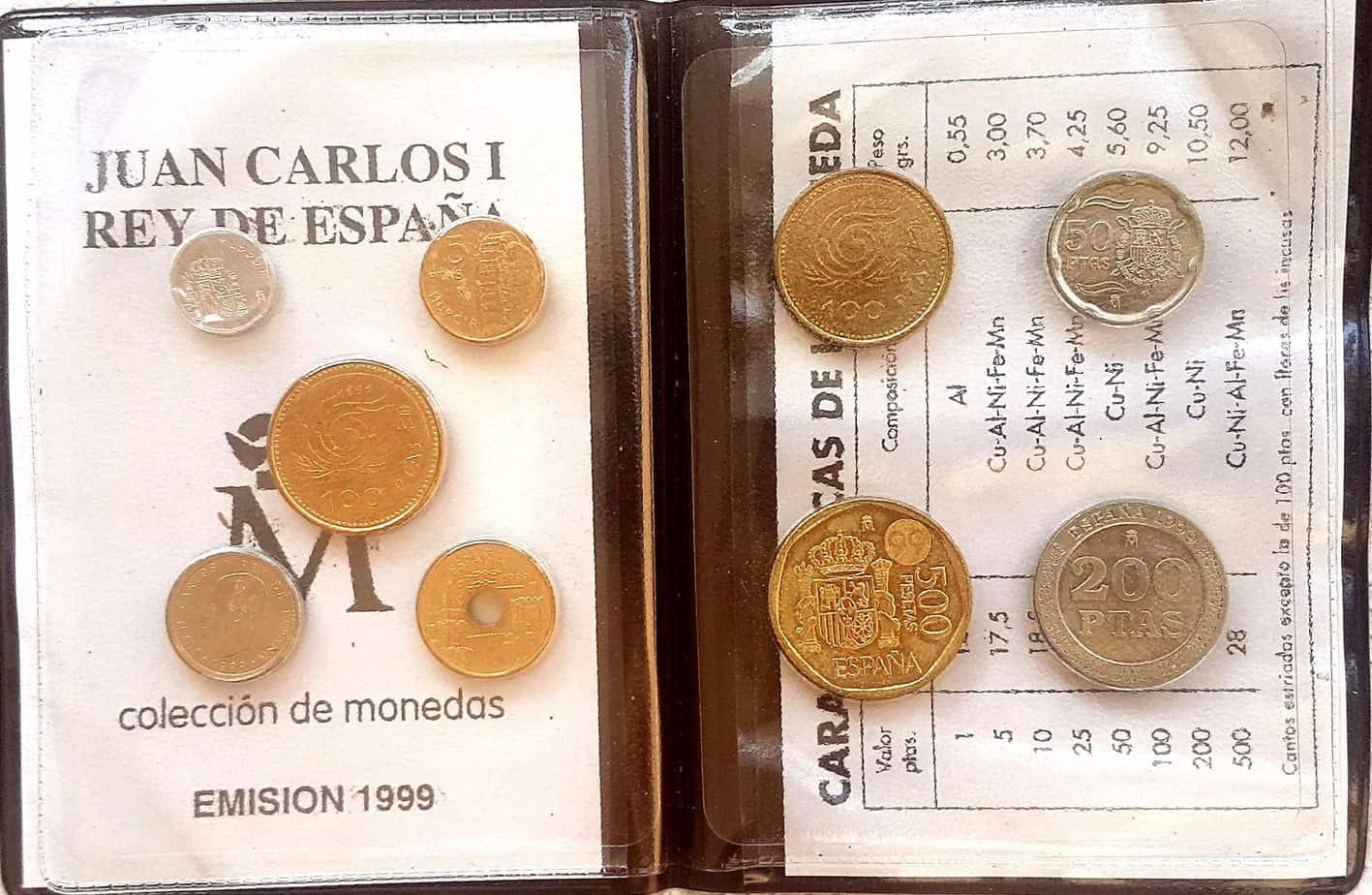 serie Monedas 1999