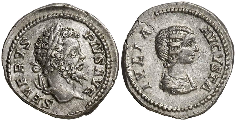 Coleccionar monedas de la Dinastía Severa