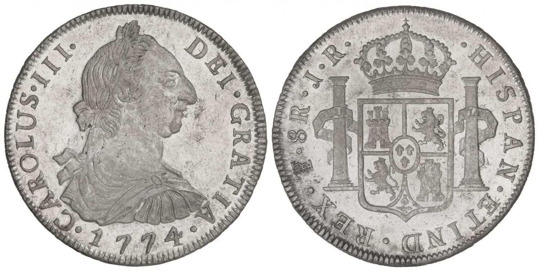 8 reales Potosí 1774
