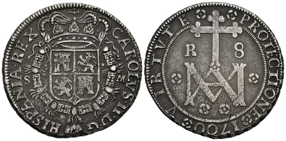 8 reales Maria Sevilla