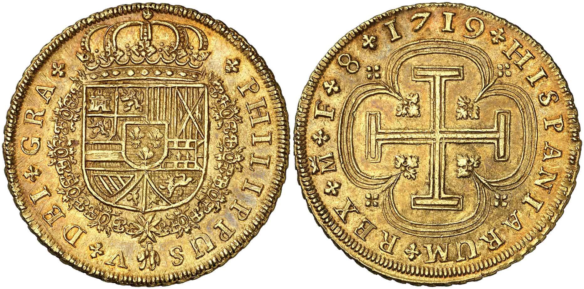 onza madrileña de 1719