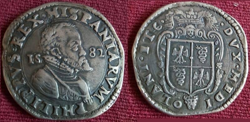 escudo Milan 1582 Falso2