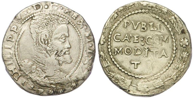 escudo Mesina 1571 anverso