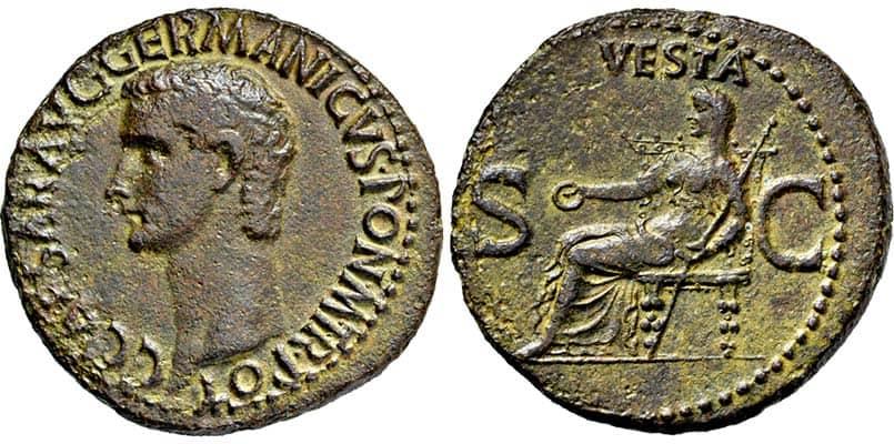 as Caligula