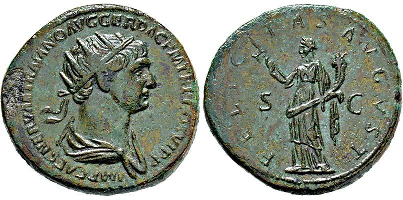 dupondio Trajano
