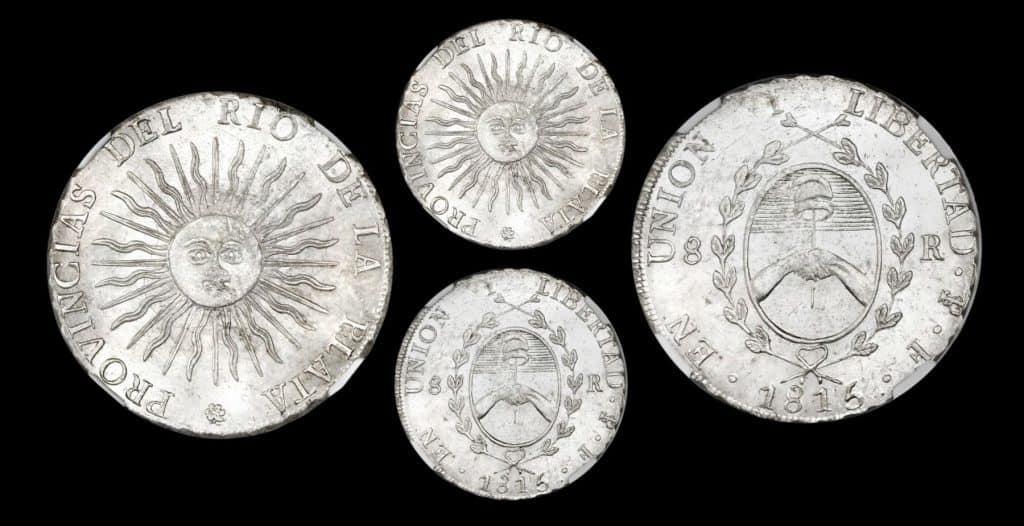 8 reales Río de la Plata 1815