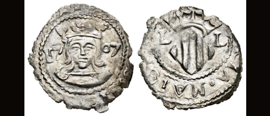 dieciocheno Carlos III 1707