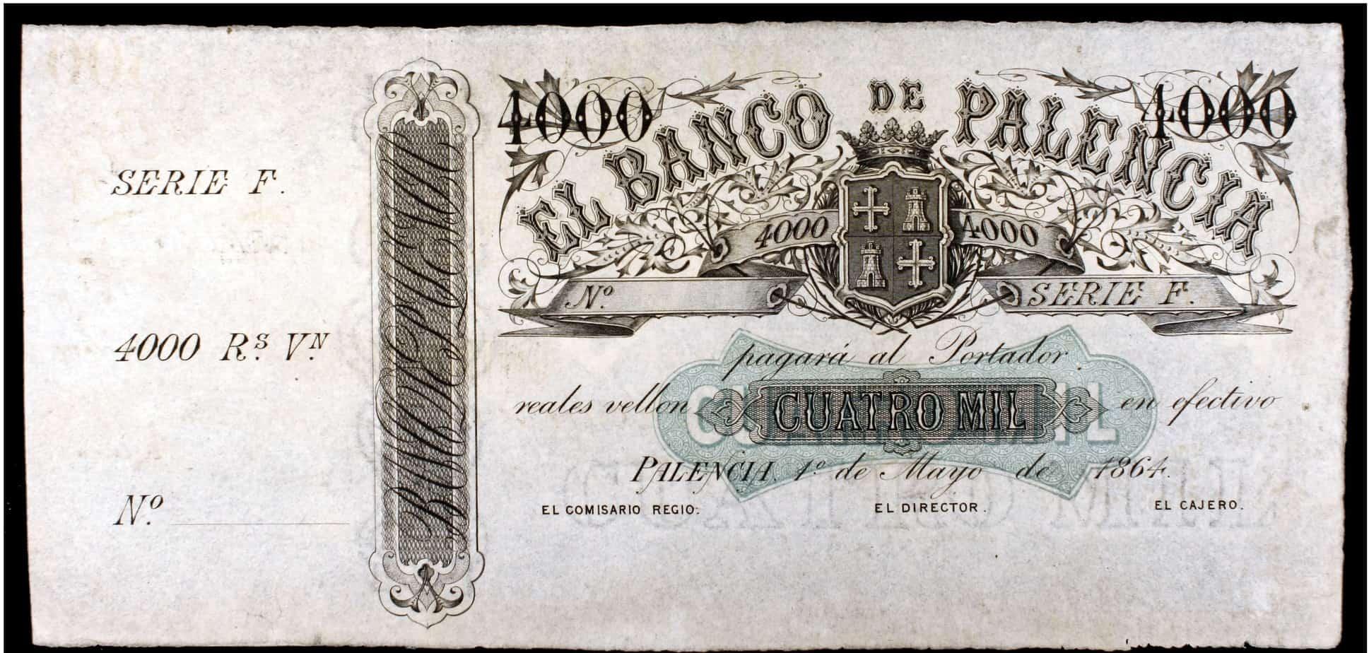 4000 reales de vellón, Banco de Palencia