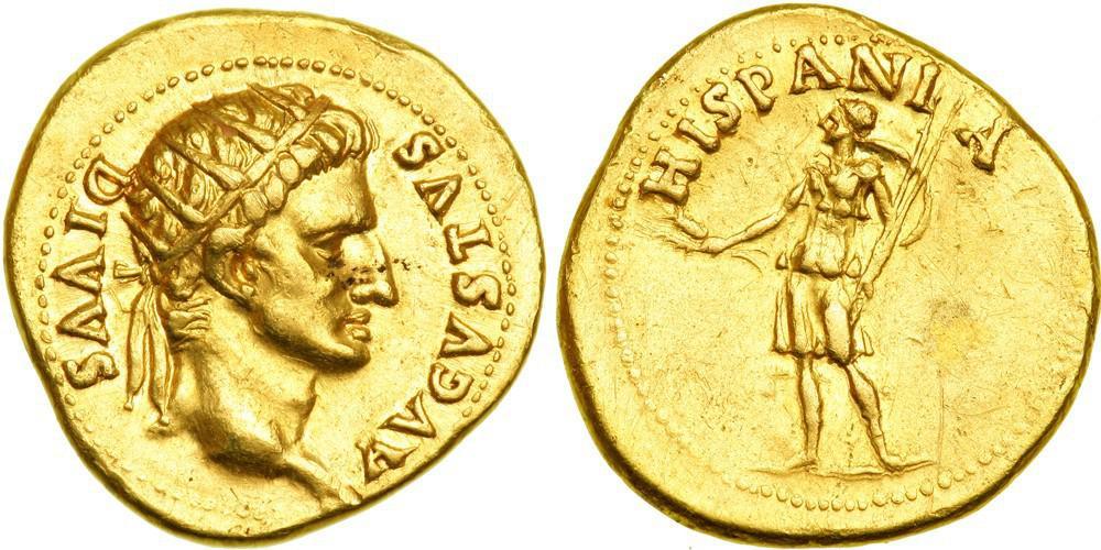 Los denarios de los enemigos de Nerón