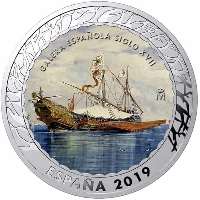 Moneda Galera Siglo XVIII