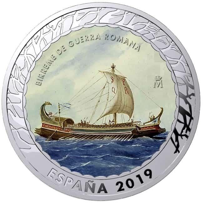 1,5 euros birreme romano