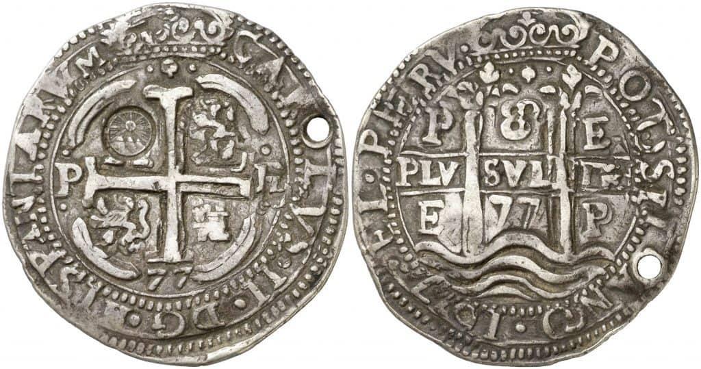 8 reales galano de Potosí