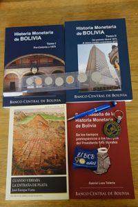 libros numismática bolivia