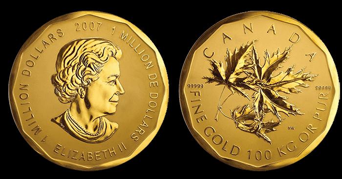 moneda 100 kilos oro
