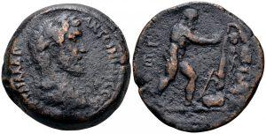 dracma Alejandría Hércules